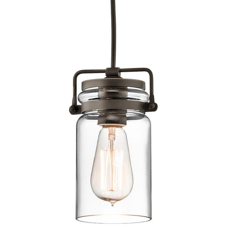 modern mason jar pendant light