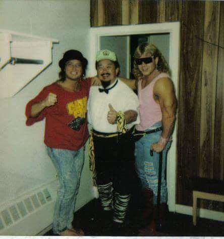 Mr Fuji (RIP) w/the Midnight Rockers,