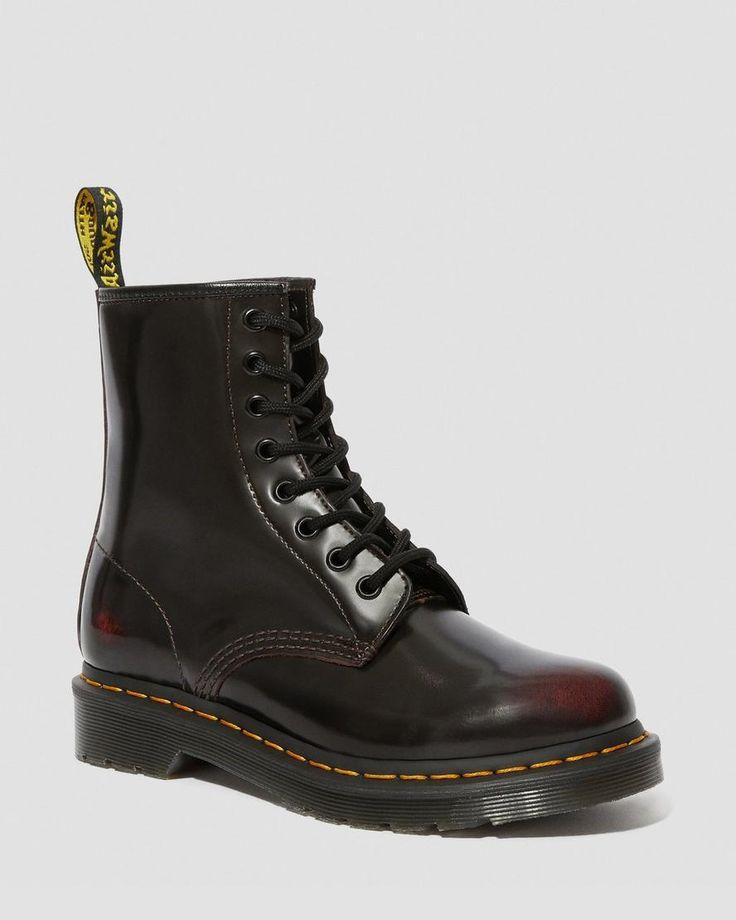 1460 Crazy Horse Brown 8 Eyelet Boot en 2020   Chaussure