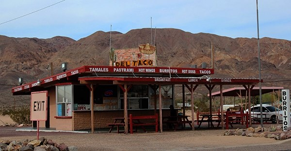 The is the original #DelTaco, located just outside of #Barstow in #Yermo, #California.  Many do not realize that Del Taco was born in Barstow. I lived not far from Yermo in Newberry Springs.