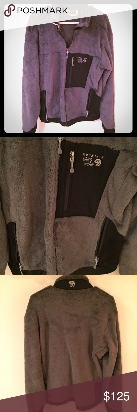 Never Worn Mountain Hard Ware fleece jacket Grey men's fleece Mountain Hard Ware jacket. In great condition and has never been worn! Mountain Hard Wear Jackets & Coats Performance Jackets