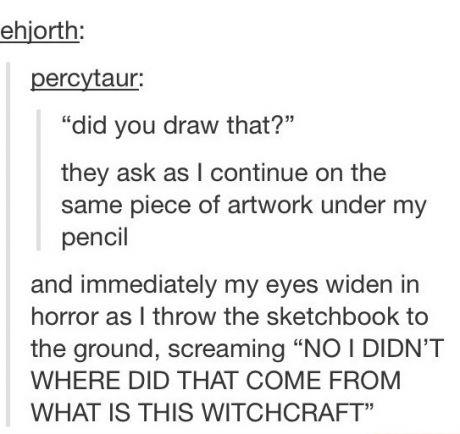 Witchcraft!