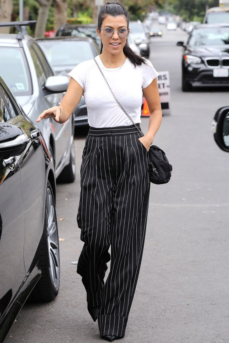 Kourtney Kardashian's Best Street Style Looks - September 17, 2017 from InStyle.com