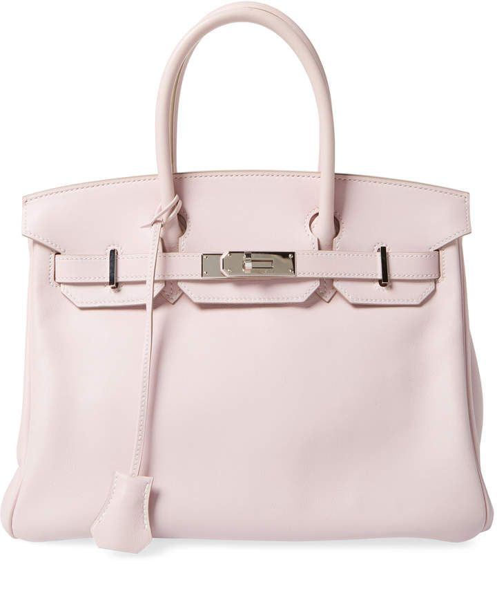 7586e6860a1b Hermès Women s Vintage Rose Dragee Swift Birkin 30 - Soft Pink ...