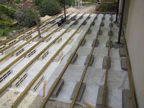 10 best terrasse bois images on Pinterest Balconies, Backyard - terrasse pave et bois