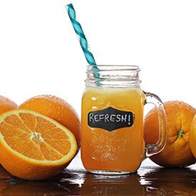 Paleo Orangesicle Fizz Drink Recipe Ingredients     1 cup orange juice, fresh-squeezed     1 cup seltzer water     1 to 1-1/2 tsp pure vanilla extract     Stevia sweetener, to taste     Ice  Instructions     Just stir everything together and enjoy!