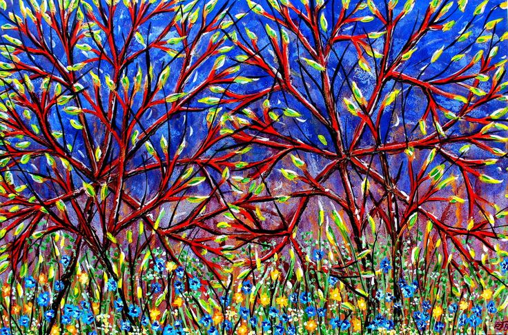 FINEARTSEEN - View Spring Dogwood original art by Paul J Best. A beautiful original painting to brighten up your home or interior decor. Freshen up your walls for Spring and view the beautiful authentic collection of artwork available on FineArtSeen - The curated online destination to discover and buy original art from the world's most talented artists. Enjoy Free Delivery with every order. >
