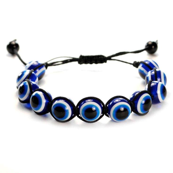 Evil Eye Shamballa Bracelet
