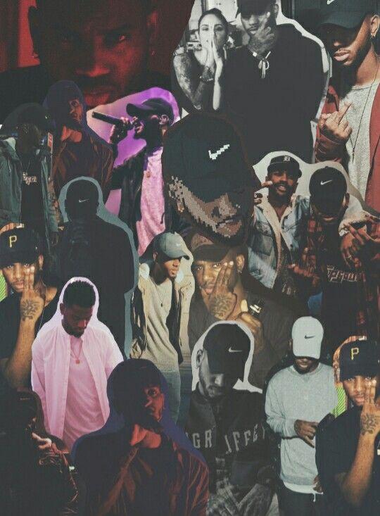 17 best images about bryson tiller on pinterest follow - Drake collage wallpaper ...