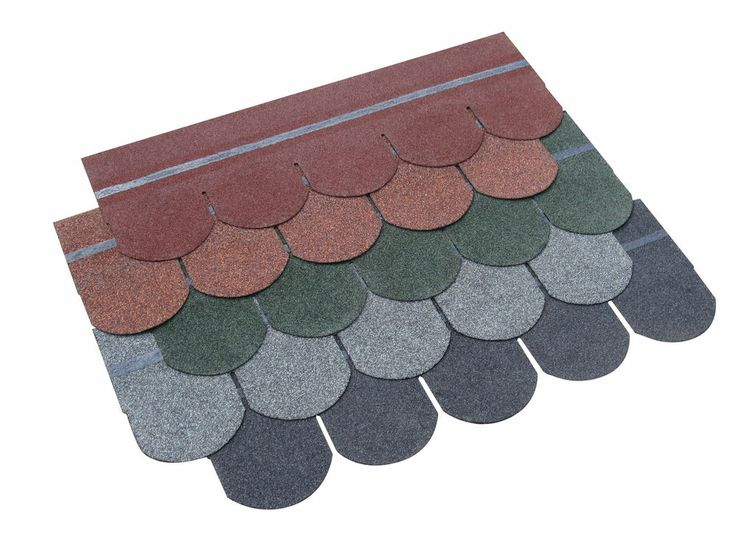 Details About Fishscale Roof Felt Tiles Pack Of 21