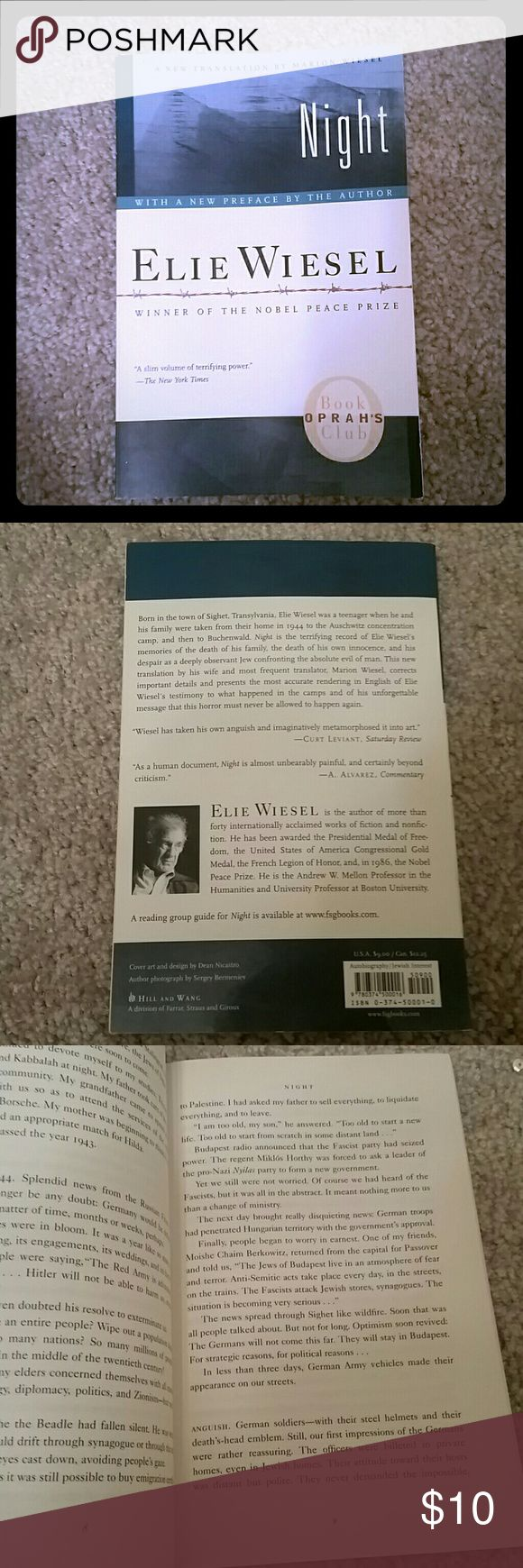 Night by Ellie Wiesel Assigned book Other