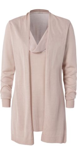 Long-Sleeve Top with Georgette Neckline - Intimissimi