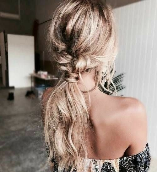 loose, low braid #style #beauty