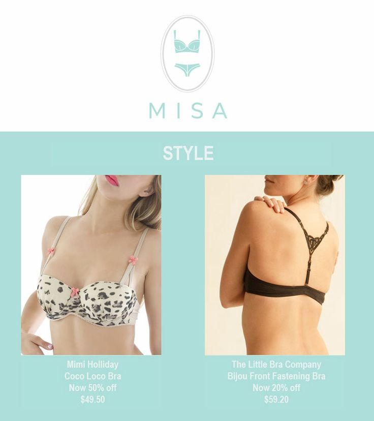 There's some great pieces on sale now in our Style section http://www.misa.com.au/style/