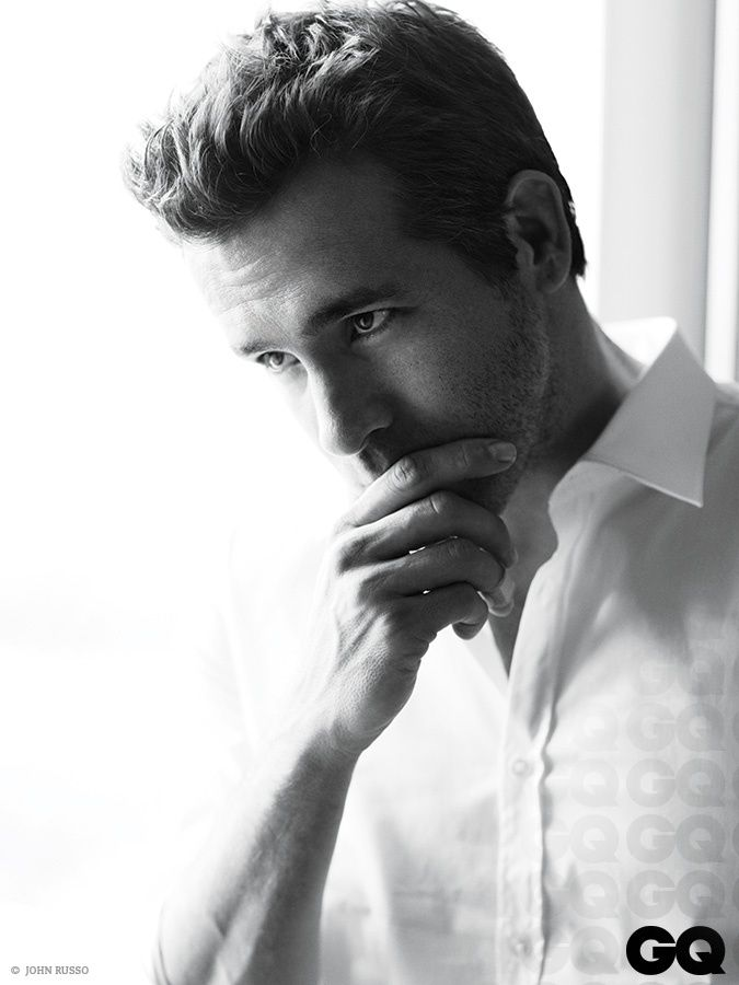 Ryan Reynolds by John Russo for GQ Mexico