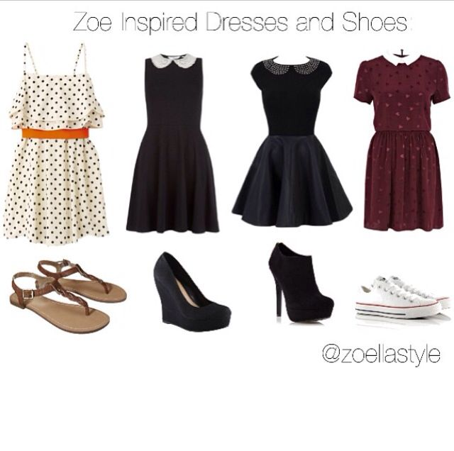 Dresses inspired by Zoe Sugg