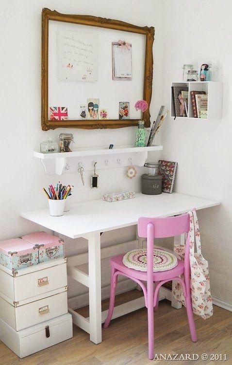Querido Refúgio - Decoração: Espaços pequenos e escritórios de sonhos - Home Office