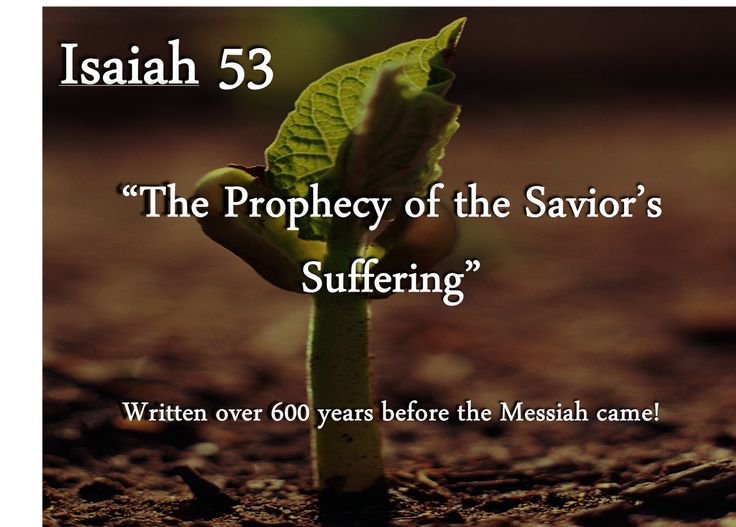 isaiah 53 | Isaiah 53: The Story of the Suffering Servant Savior