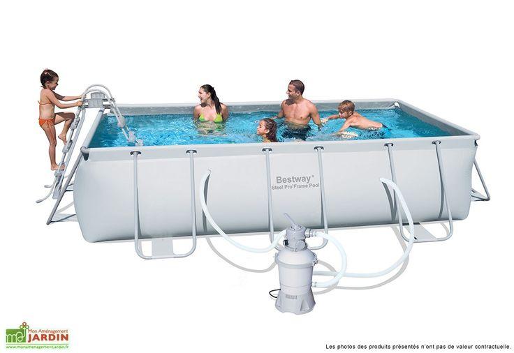 Les 25 meilleures id es de la cat gorie piscine hors sol for Piscine tubulaire rectangulaire en solde