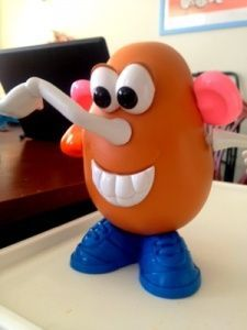 Language activities, Potato heads and Language on Pinterest Potato Head Nose