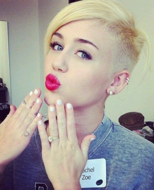 2014 Really Short Haircuts for Girls