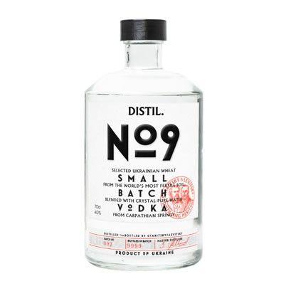 Distil No.9 Small Batch Vodka 70cl