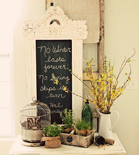 Spring Home Decor Design Ideas: Spring Decorating