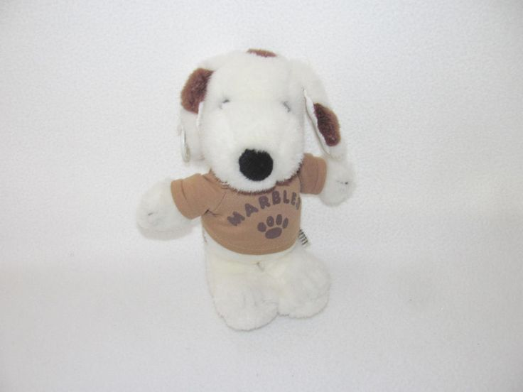 """12"""" UFS United Feature Syndicate Peanuts Snoopy's Brother Marbles Plush Doll Toy #UnitedFeatureSyndicate #Peanuts #Snoopy"""