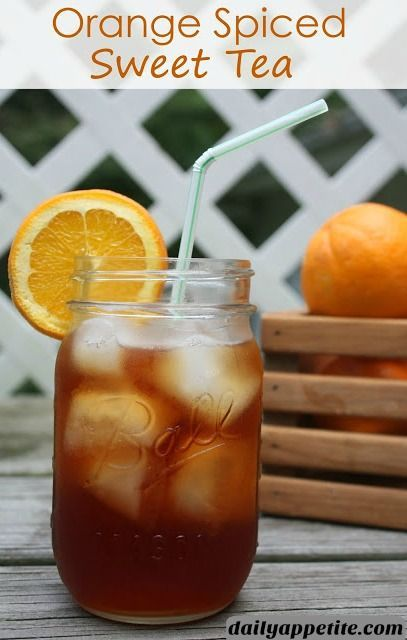 This Fall flavored Spiced Tea recipe is made with fresh oranges, cinnamon and…