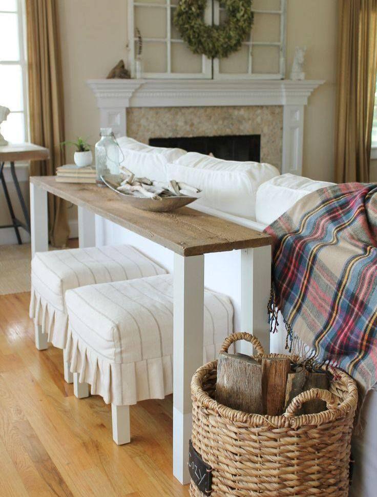 Bettbrcke Auch Im Wohnzimmer Hinter Der Couch Stellen Knnen
