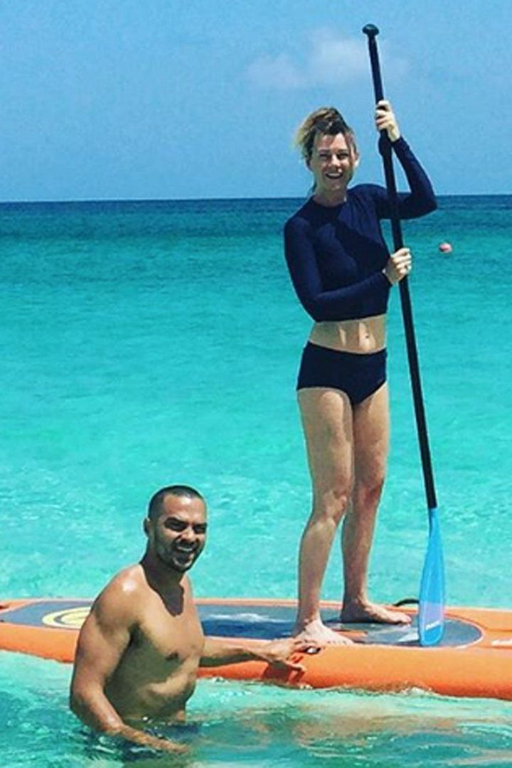 Jesse Williams Looks Calm and Carefree While Vacationing in Hawaii With Costar Ellen Pompeo