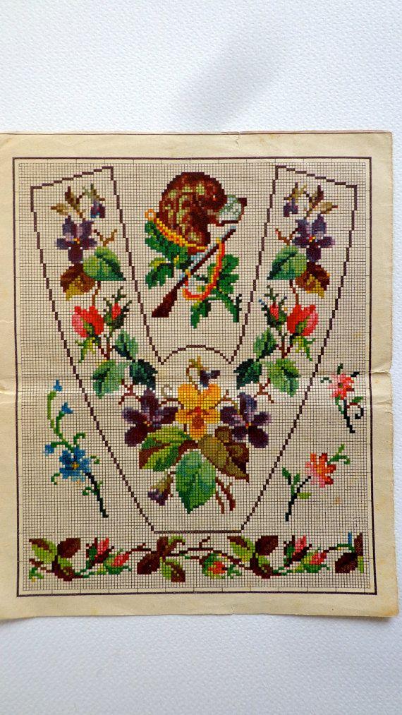 Antique Berlin Wool Work Woolwork Pattern