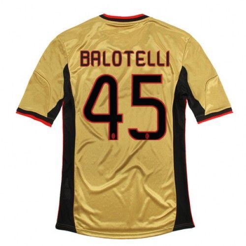 Maglia AC Milan 2013-2014 3rd 45 BALOTELLI