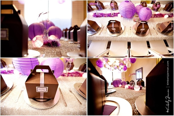 Purple party inspiration formal-party-ideas