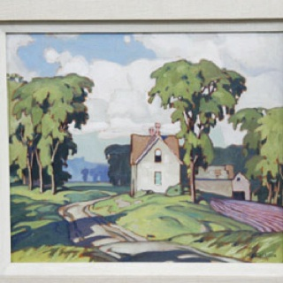 Alfred Joseph Casson, 1930.  (Group of Seven)