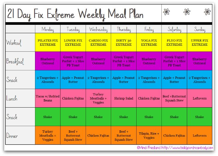 17 best images about 21 day fix extreme recipes on for Healthy home plans