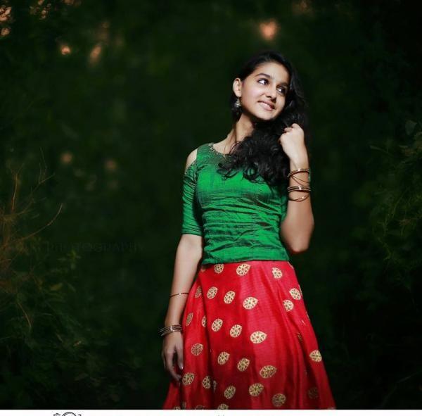 Anaswara Rajan in Cute Green Dress | Nice dresses, Fashion ...