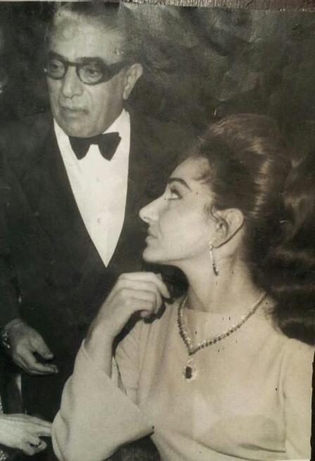 Aristotle Onassis and Maria Callas in Lefkada island ~1964