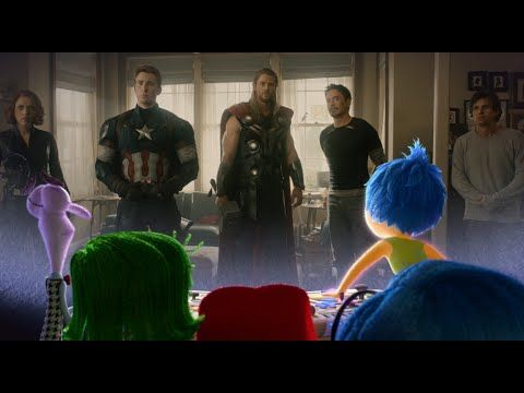 Inside Out Emotional Reaction to Avengers: Age of Ultron Trailer - YouTube
