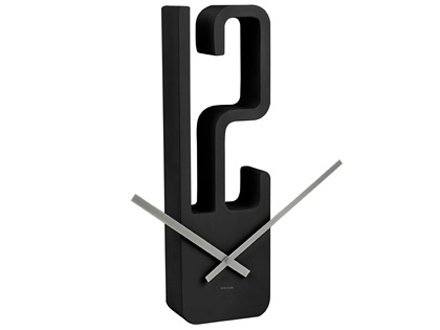 Modern Minmalistic Wall Clock    Would Look Cool On A Wall Arrangement Of  Different Shaped Clocks.