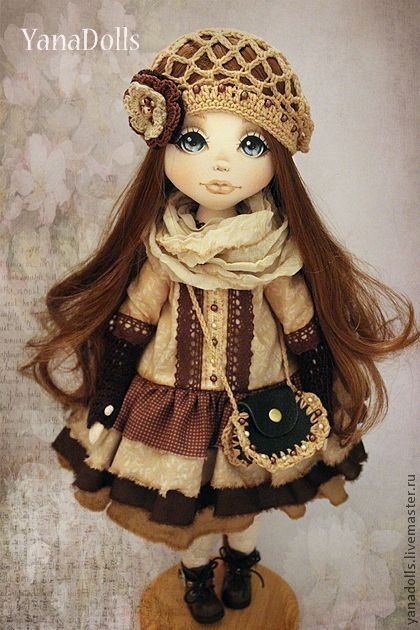 Collection handmade dolls.  Order Candy.  YanaDolls.  Arts and crafts fair…