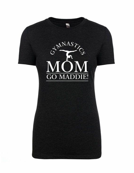 Custom Gymnastics Mom Shirt by madlewdesigns on Etsy