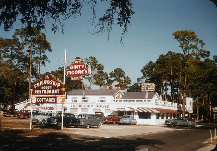 the friendship house was at the corner of hwy 90 and dubuys rd biloxi ms replaced by an