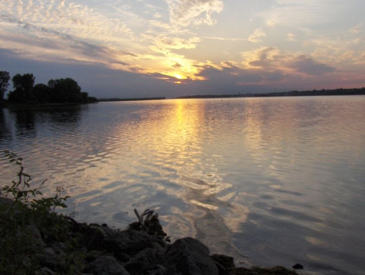 Erie, PA : Sunrise Over Presque Isle Bay
