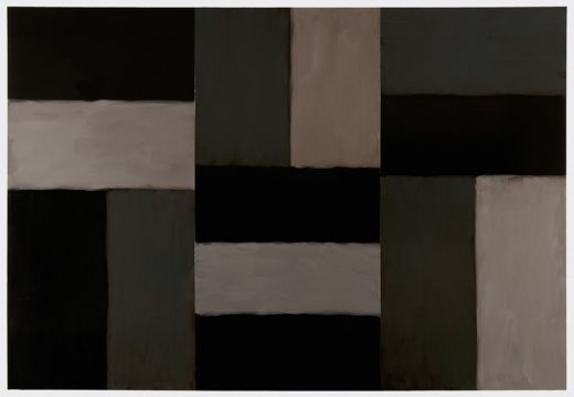 SEAN SCULLY -- BODY OF WORK 1964-2015.04.14