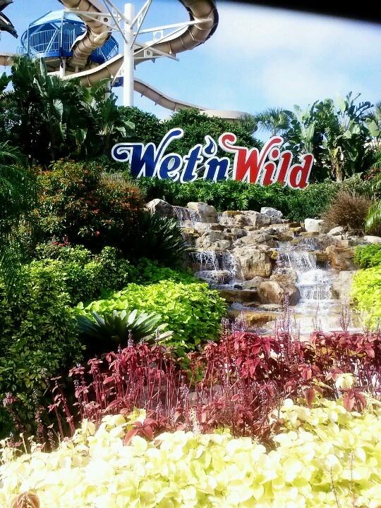 Wet N Wild, Orlando, Florida.