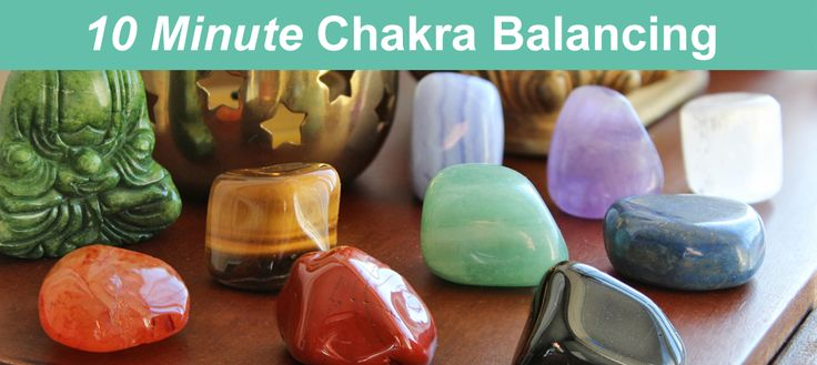 Chakra Balancing in just 10 minutes? Use these healing crystals to cleanse and balance your chakras in no time. It's as easy as laying on your back!