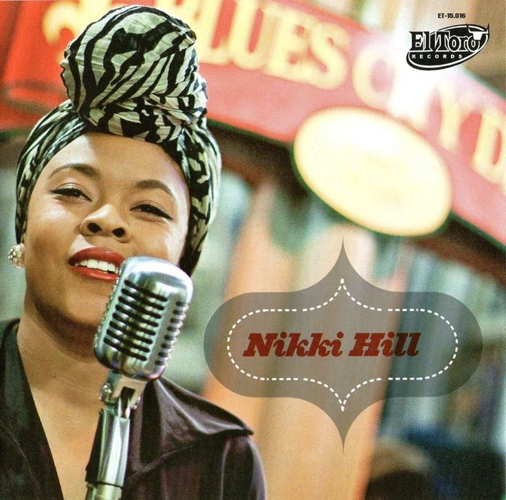 Nikki Hill - Great stompin' Blues on a pink single.