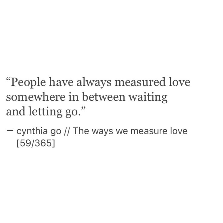 Image result for the way we measure love