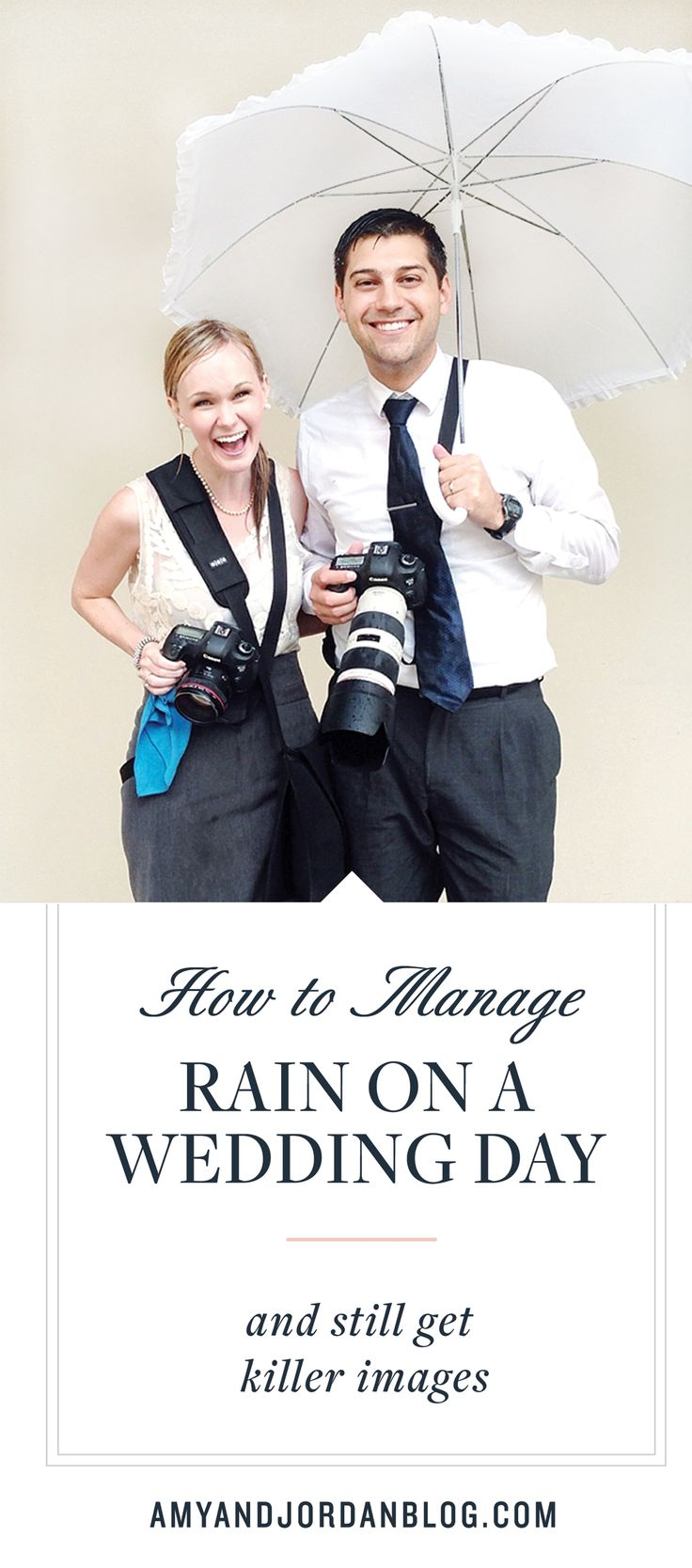 How to manage rain on a rainy day and still get killer shots.